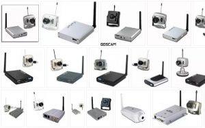 Wireless IP Camera with Receiver