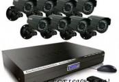 Готовые комплекты видеонаблюдения на 8 камер