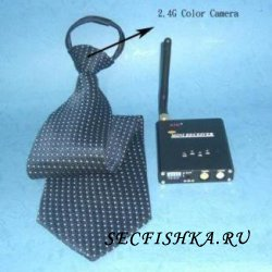 Скрытая мини камера в галстуке