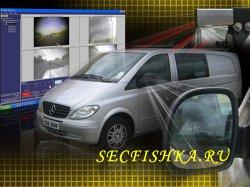Камеры в боковых зеркалах автомобиля