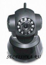 Видеонаблюдение через интернет на примере одной IP камеры