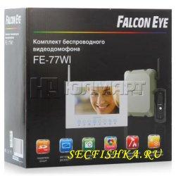 FALCON EYE FE-77WI - беспроводной видео домофон