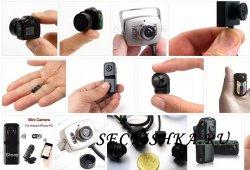 Миниатюрные камеры скрытого наблюдения - основные типы